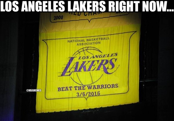 New Lakers Banner