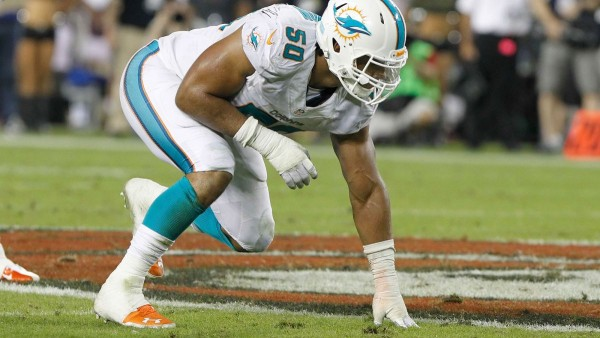 Dolphins to use transition tag on Olivier Vernon