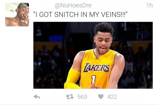 Snitch in my veins