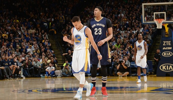 Stephen Curry, Anthony Davis