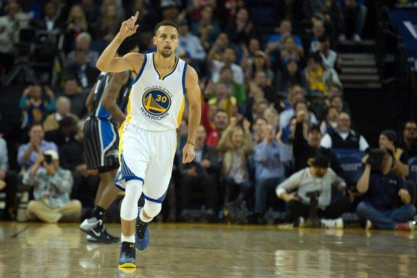 Stephen Curry Warriors Magic