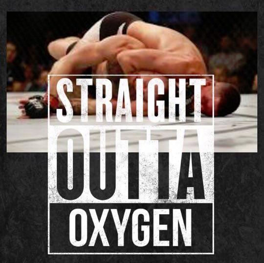 Straight outta oxygen