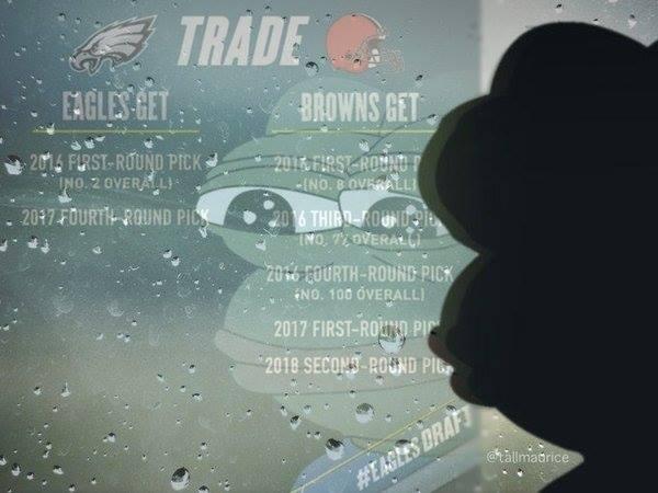 Browns Eagles Trade Meme