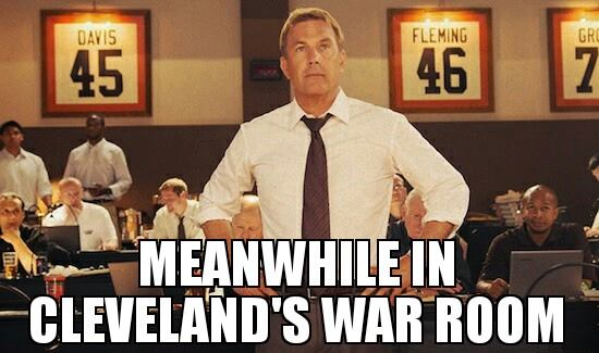 Browns War Room