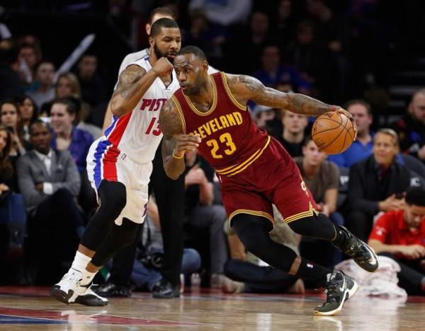 Cavaliers Pistons