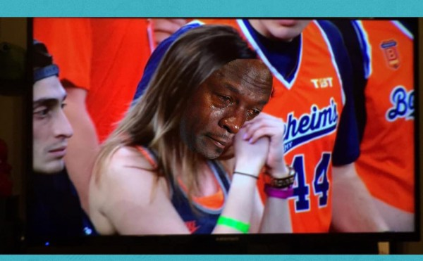 Crying Jordan Syracuse