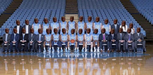 Crying Jordan team picture