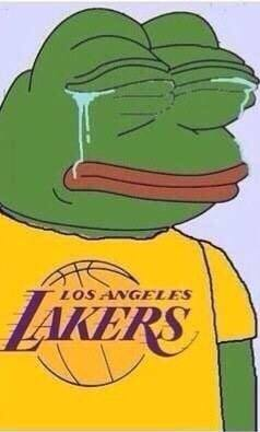 Crying Lakers