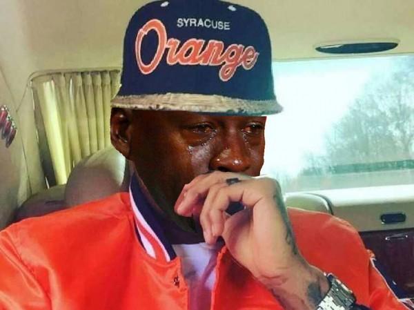 Crying Syracuse Fan