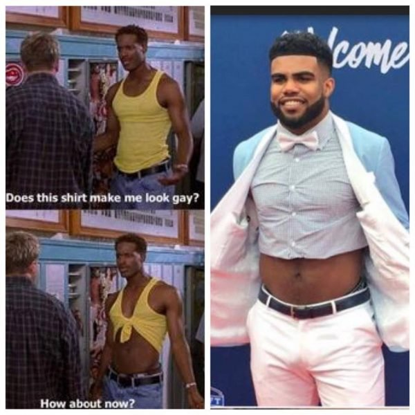 Ezekiel Elliott Belly