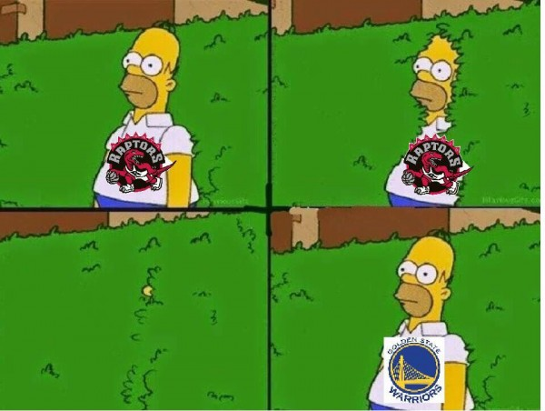 From Raptors to Warriors Fan