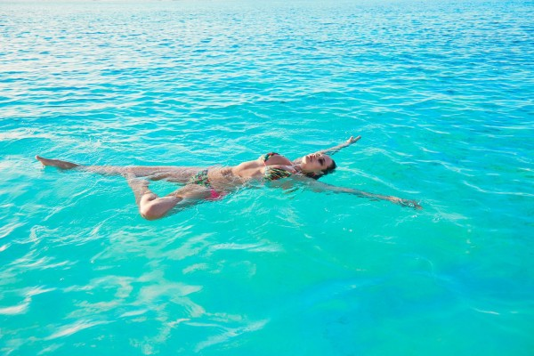 Genevieve Morton Swimming
