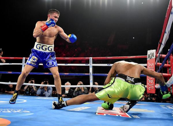 Golovkin Knocks Out Wade