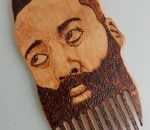 James Harden beard comb