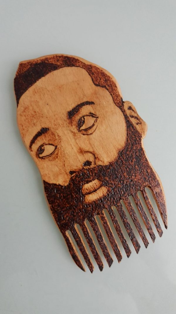 James Harden beard comb
