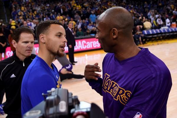 Kobe Bryant, Stephen Curry