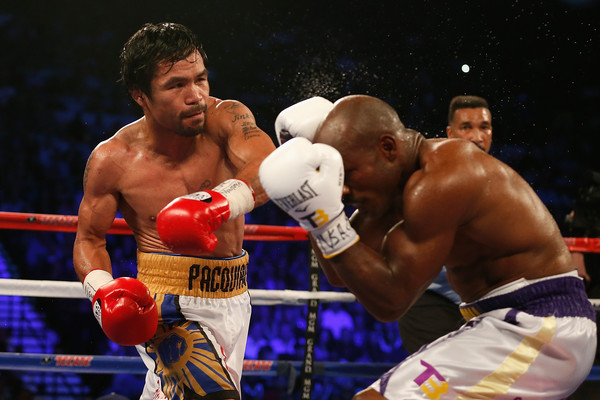 Pacquiao punches Bradley