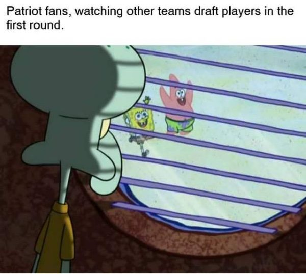 Patriots no pick