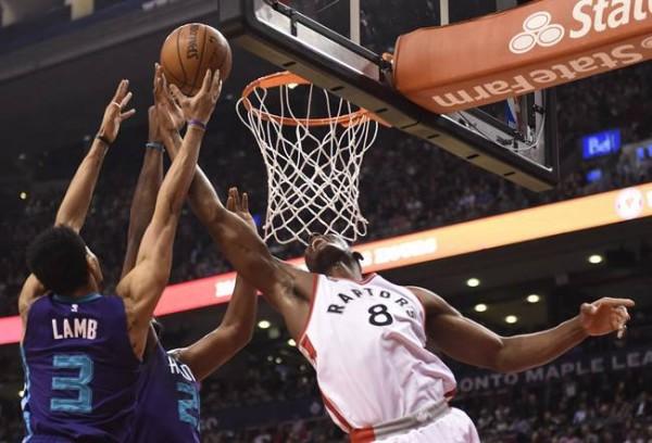 Raptors beat Hornets