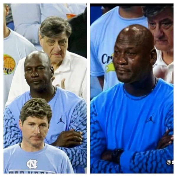 Regular Jordan Crying Jordan