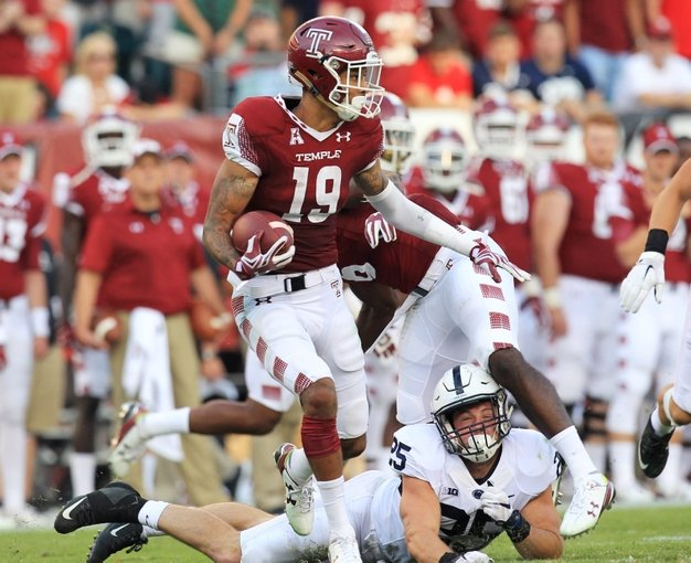 NCAA Football: Penn State at Temple