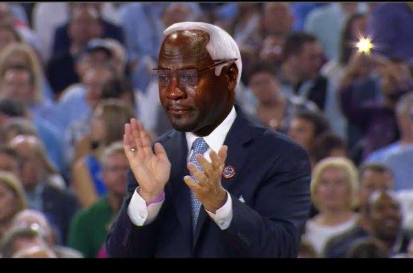 Roy Williams Crying Jordan