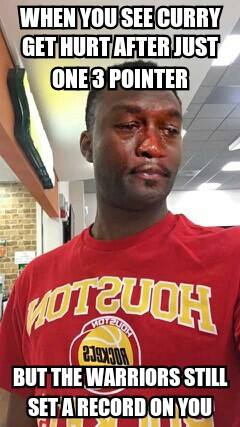 Sad Jordan Rockets Fan