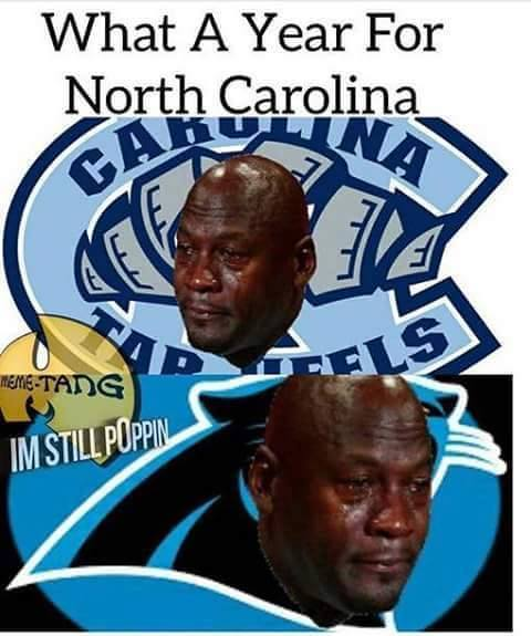 Tragic North Carolina year
