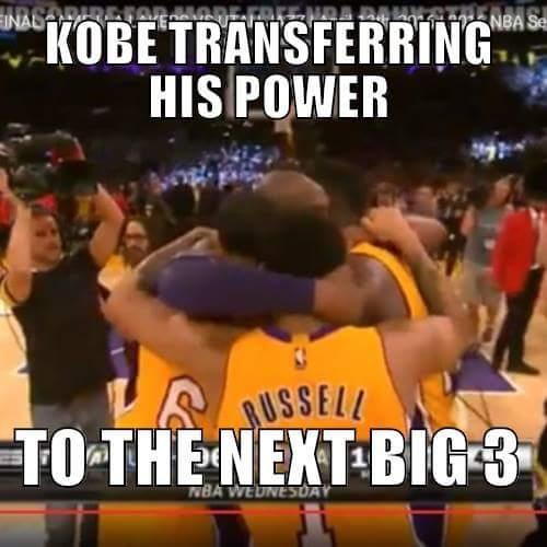 Transferring his power