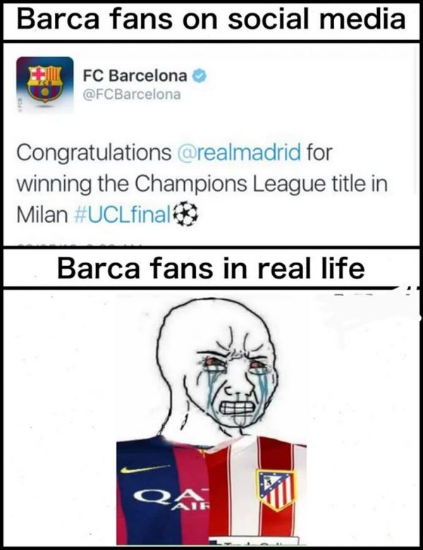 Barca Fans in real life