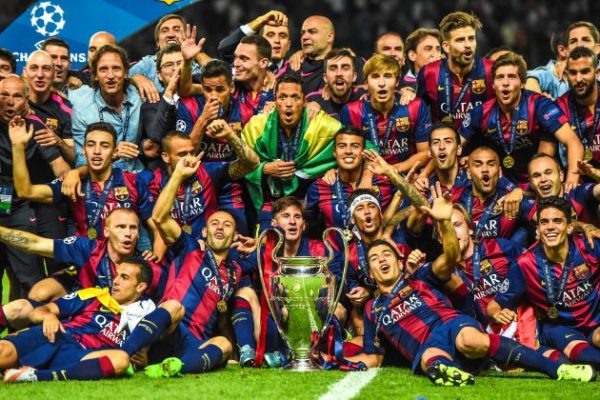 Barcelona 2015 Champions League