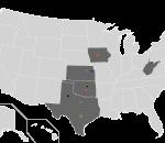 Big 12 Map