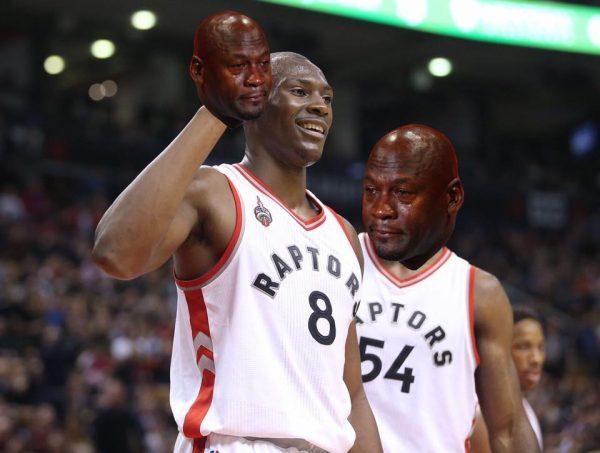 Biyombo Crying Jordan