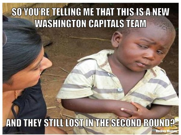 Capitals Second Round curse