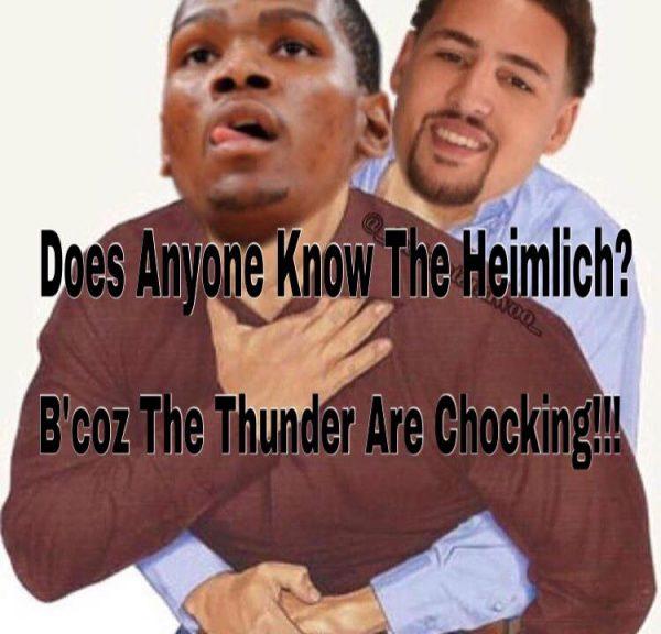 Choking Thunder