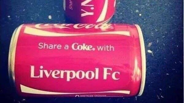 Coke with Liverpool