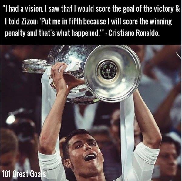 Cristiano Ronaldo Vision