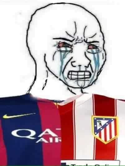 Crying Barca Atletico