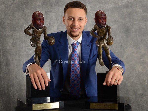 Crying Jordan Curry MVPs