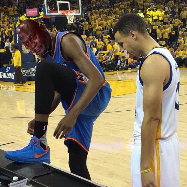 Crying Jordan Durant