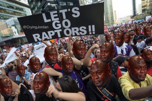 Crying Jordan Jurassic Park