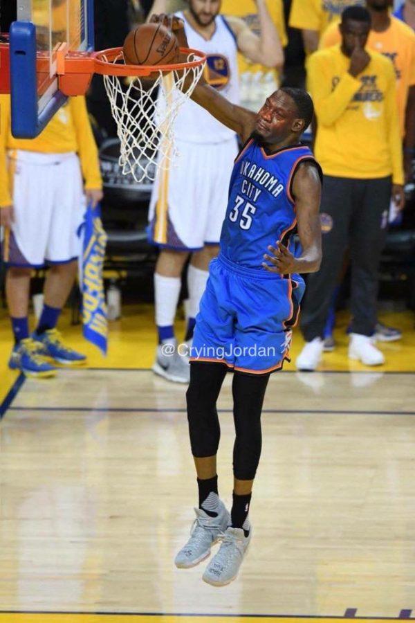Crying Jordan Kevin Durant