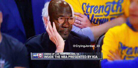 Crying Jordan Larry David