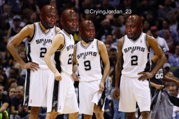 Crying Jordan Spurs
