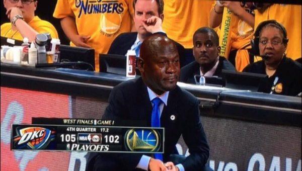 Crying Jordan Steve Kerr
