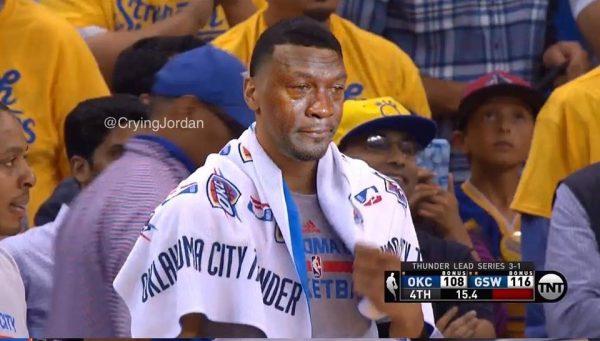 Crying Jordan Thunder Player