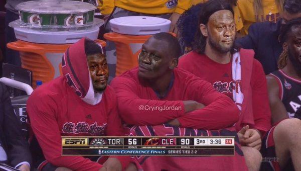 Crying Raptors Bench