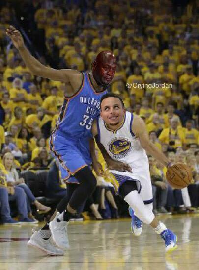 Curry Crying Jordan Durant