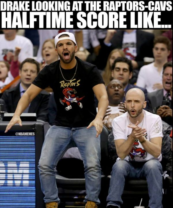 Drake at Half Time