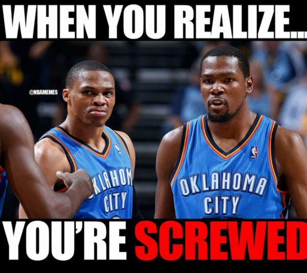 Durant Westbrook screwed